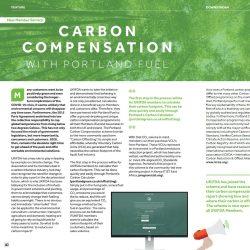 Carbon compensation with Portland Fuel
